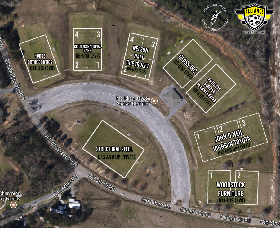 A 25+ Acre Park Located In West Meridian On Old 8th Street Road, It  Features Nine Soccer Fields (3 Lighted), Multi Purpose Storage/concession  Building, ...